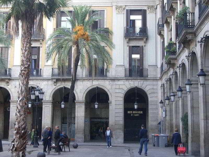 Roma Reial in Barcelona, Spain