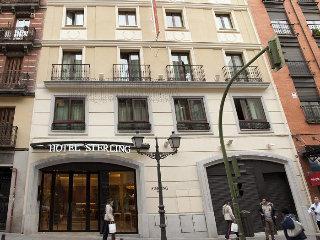 Sterling in Madrid, Spain