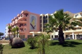 Balaia Plaza in Algarve, Portugal