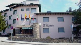 hotel La Pardina en la población de Sabiñanigo