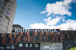 hotel Avenida en la población de A Coruña