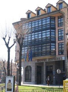 hotel Astures en la población de Oviedo