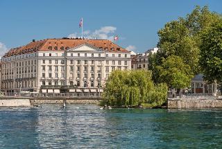 Hotel Four Seasons Des Bergues in Geneva, Switzerland