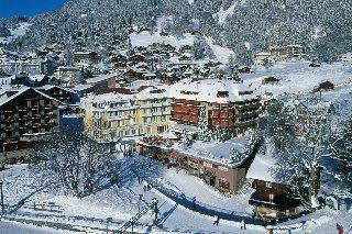 Silberhorn in Swiss Alps, Switzerland