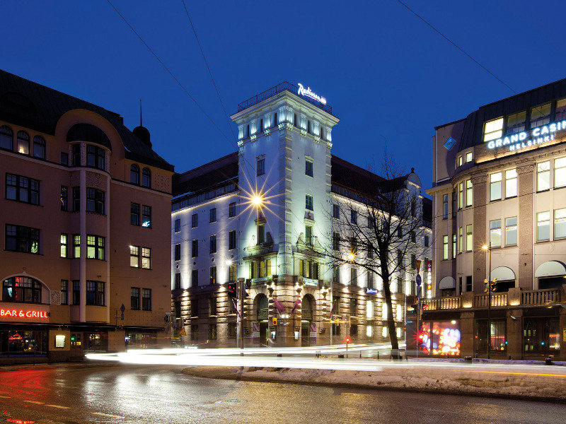 Radisson Blu Plaza Hotel in Helsinki, Finland