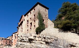 hotel Albarracin en la población de Albarracin