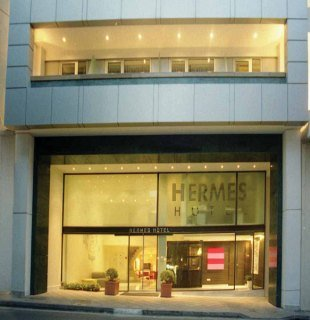 Hermes Hotel in Athens, Greece
