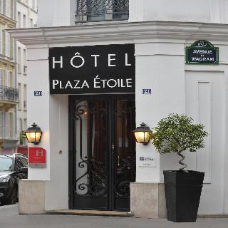Hotel plaza etoile en paris arco de triumfo puerta maillot - Hotel puerta del arco ...