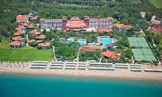 Вид на отель отеля Belconti Resort Белек Турция.