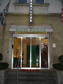 Basilisk in Basel, Switzerland