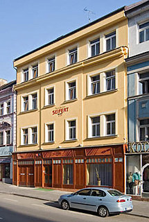 Seifert in Prague, Czech Republic