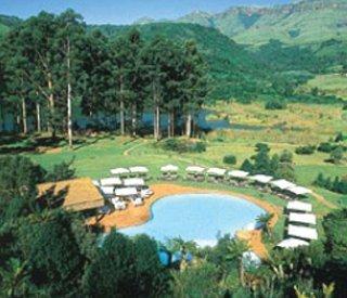 Dormir en Hotel Drakensberg Sun en Drakensberg Garden
