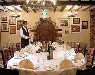 Last Drop Hotel Bolton Restaurant Menu