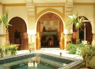 Riad Moucharabieh in Marrakech, Morocco