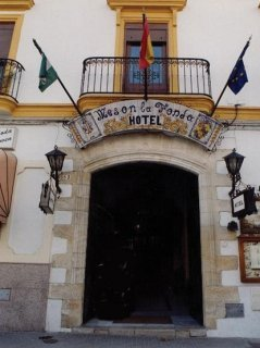hotel La Fonda del Califa en la población de Arcos de la Frontera