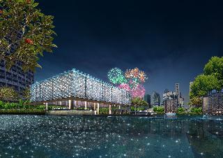 5 sterne hotel marina mandarin singapore in singapore for Pool garden marina mandarin