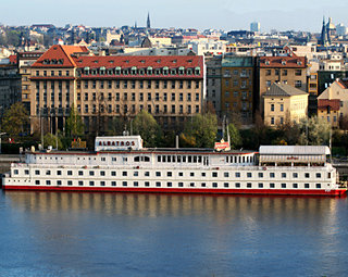 Botel Albatros in Prague, Czech Republic