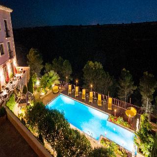 hoteles con piscina exterior en cuenca provincia espa a