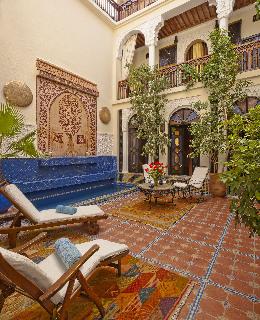 Riad 58 Blu in Marrakech, Morocco