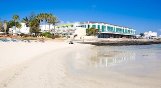 The Corralejo Beach