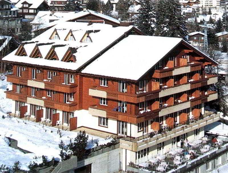 Steinmattli Hotel in Swiss Alps, Switzerland