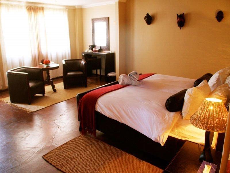 Room - Intu Africa-zebra Kalahari Lodge