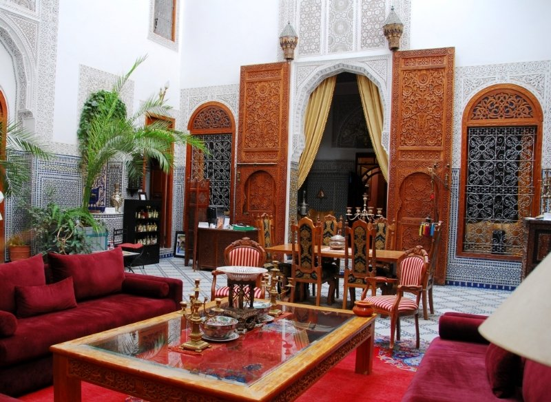 Riad Damia in Fes, Morocco