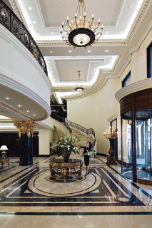 Ritz Carlton in Moscow, Russia