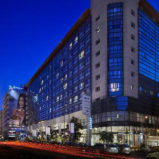 Radisson Blu Hotel in Bucharest, Romania