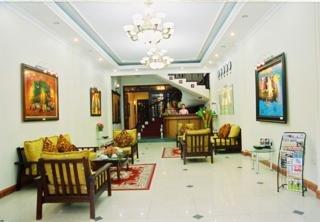 Bonjour Vietnam Hotel:  Lobby