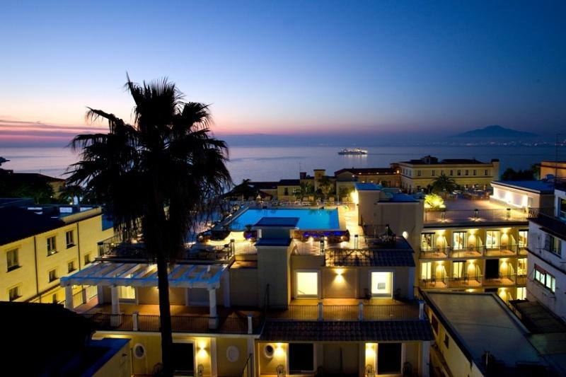 Grand Hotel la Favorita in Neapolitan Riviera, Italy