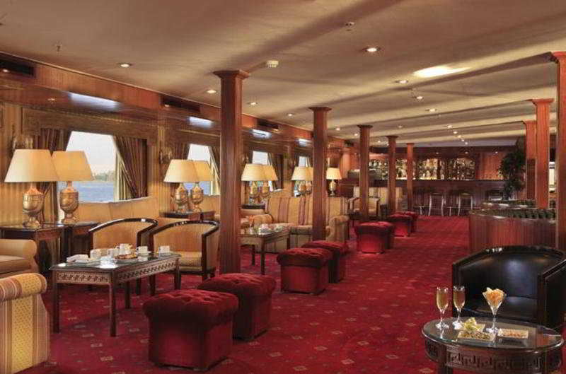 Iberotels Cruise Luxor:  Bar: nile valley: luxor egypt hotels & resorts luxor