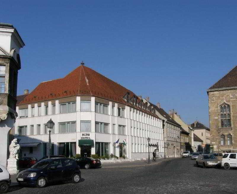 Burg Hotel in Budapest, Hungary