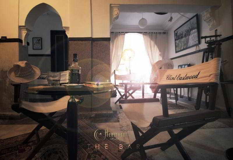 Riad Heritage:  Bar