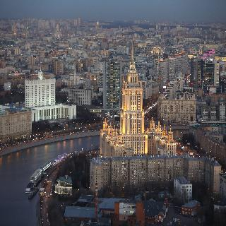 Radisson Royal Hotel in Moscow, Russia