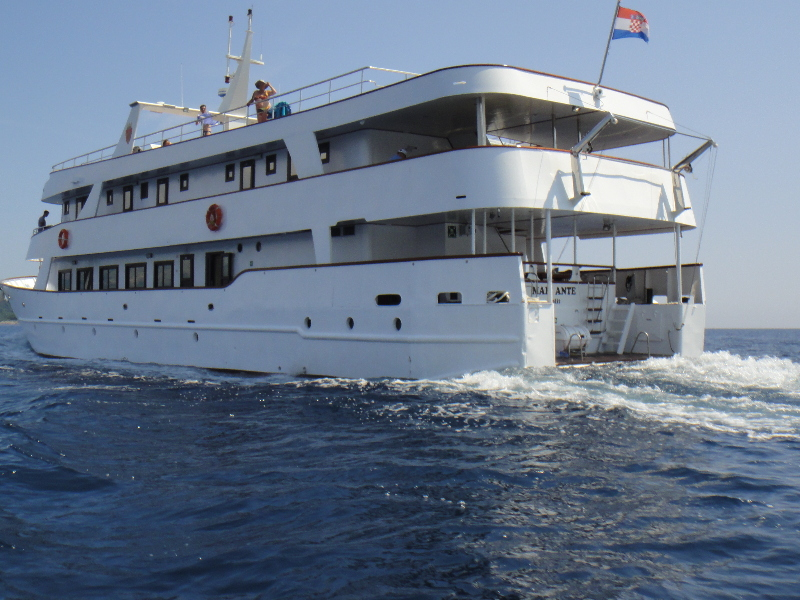Hotel Cruise from Dubrovnik on M/Y MALI ANTE