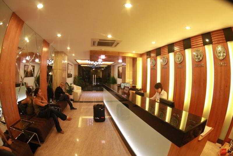 Silver Hotel:  Lobby