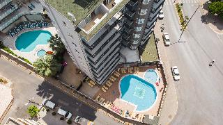 Kleopatra Tower Apart Hotel in Alanya Area, Turkey