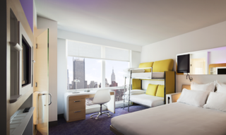 Accommodation - Yotel New York at Times Square - Guest room - NEW YORK