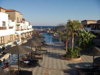 Costa Lindia Beach in Rhodes, Greece