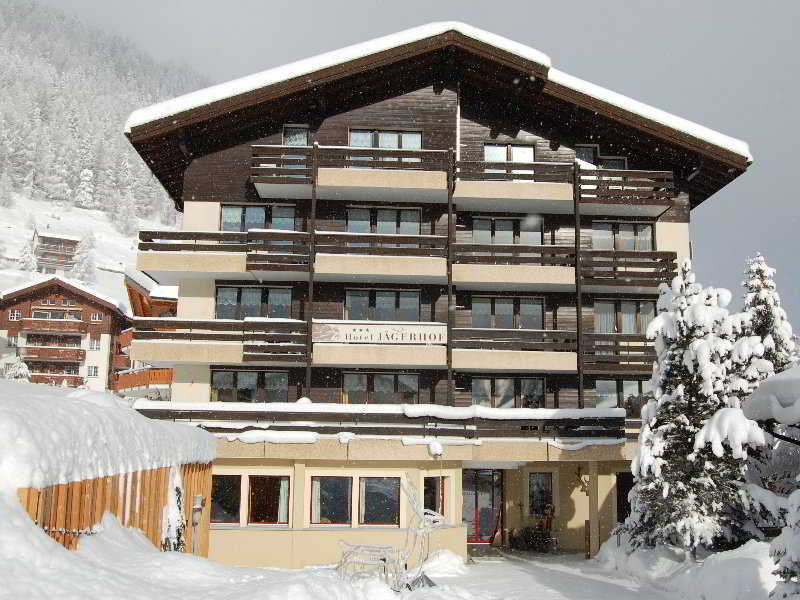Jagerhof Hotel in Swiss Alps, Switzerland