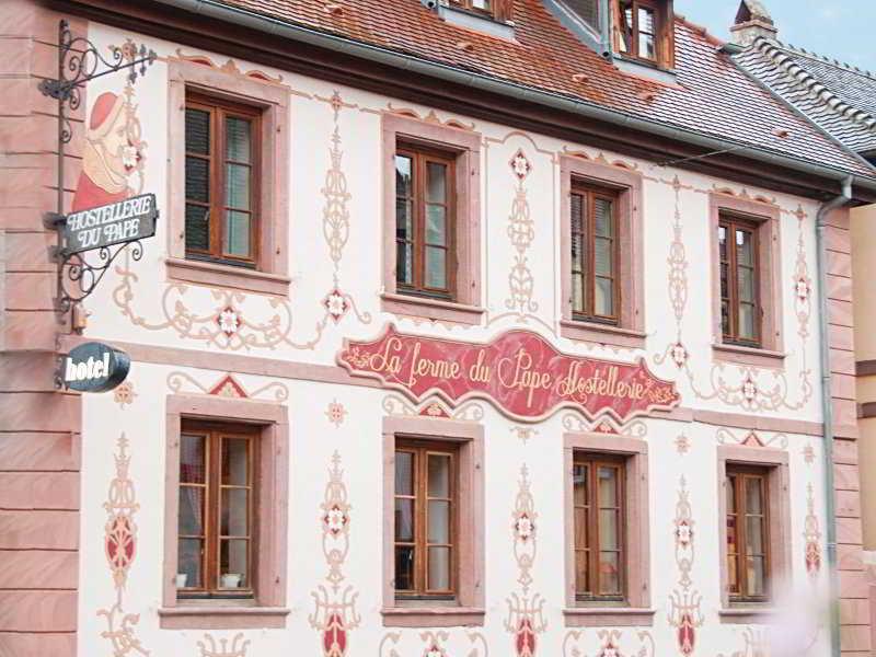 INTER Colmar Sud La Ferme du Pape - Hostellerie