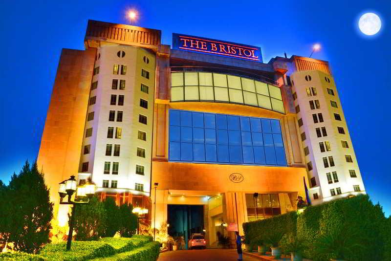 The Bristol Hotel in New Delhi, India