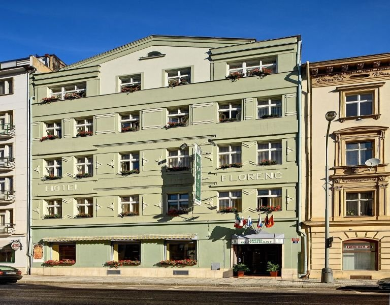 Florenc Hotel in Prague, Czech Republic