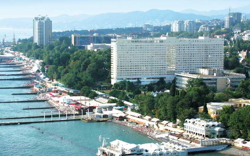Grand Hotel Zhemchuzhina in Sochi, Russia