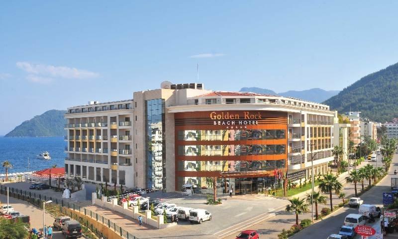 Golden Rock Beach Hotel in Marmaris, Turkey