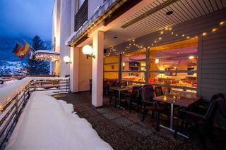 Das Hotel Sherlock Holmes in Swiss Alps, Switzerland