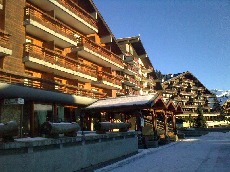 Des Masques in Swiss Alps, Switzerland