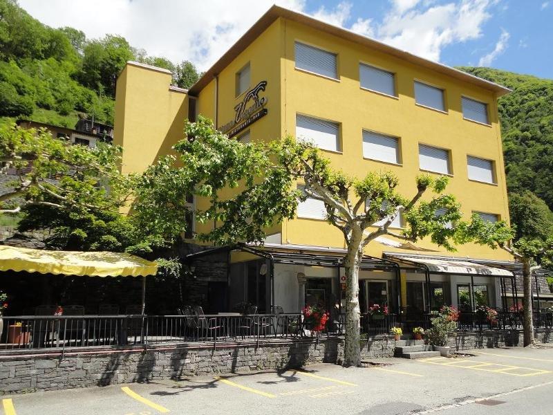 Hotel Pizzo Vogorno in Ticino, Switzerland