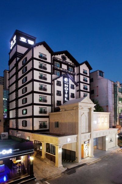 Belamie Hotel in Suwon, South Korea
